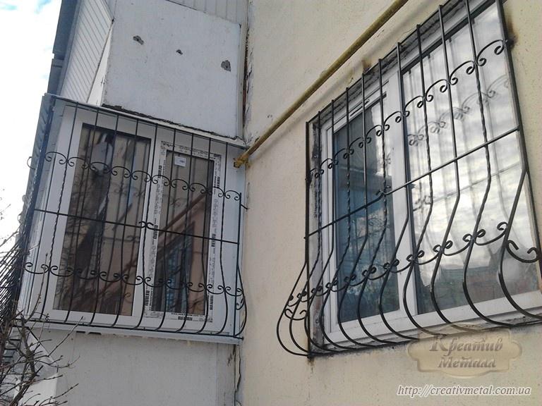Про металлические решетки на окна