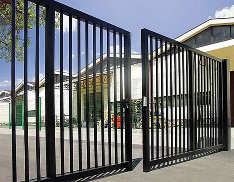 фотографии ворот из металла