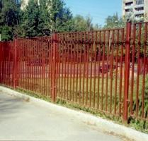 Секционный забор сварной