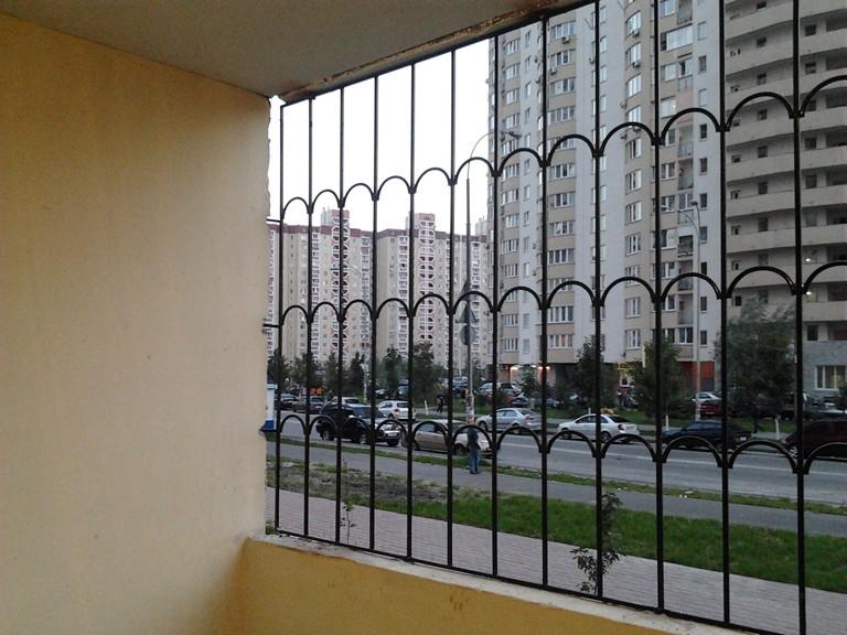 Решетки на окна балкон. - галерея работ остекление - каталог.