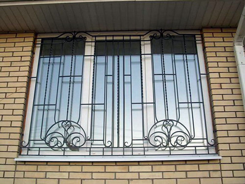 фото решеток на окна фото