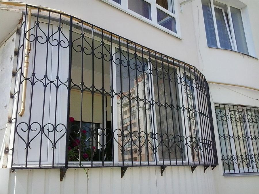 Решётки прямые на окна. изготовление прямых решеток с устано.