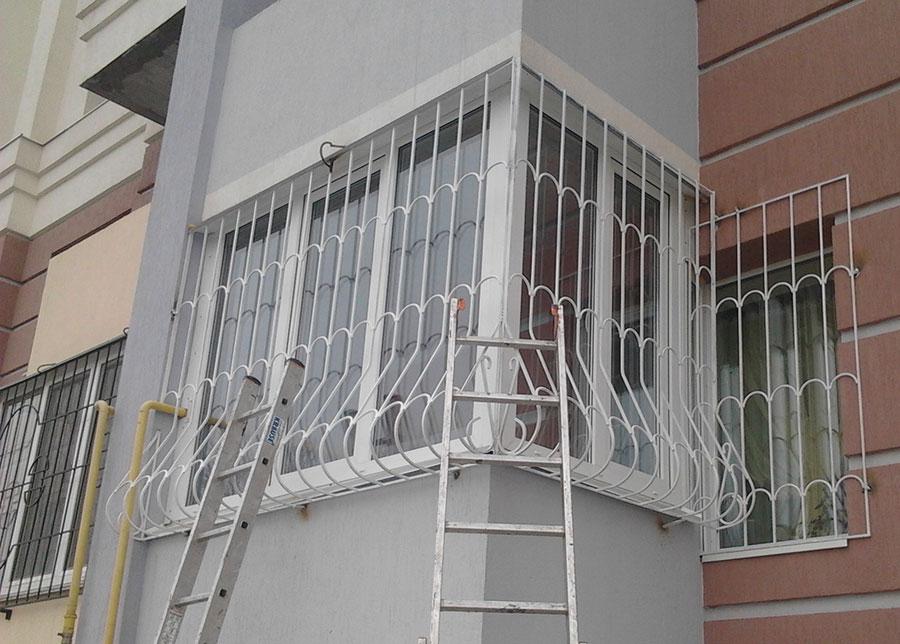 Установить решетку на балкон. - мои статьи - каталог статей .