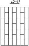 Прямая решетка сварная. Эскиз 17