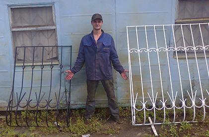 Заказываем кованые решетки на окна